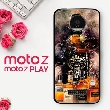 Jack Daniels Wallpaper X3402  Motorola Moto Z Play Case