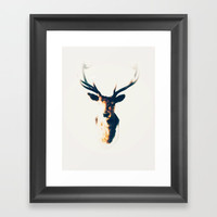 Whiskey Light Framed Art Print by DAVID DARCY