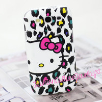 FashionCultureJewelry — Cute Hello Kitty Leopard Case Cover For Samsung Galaxy i9300 S III S3