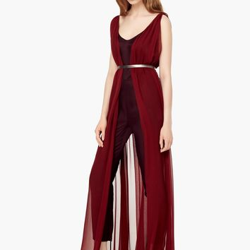 PREMIUM - MIXED SILK JUMPSUIT