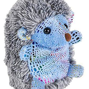"Wildlife Tree 8"" Stuffed Hedgehog with Rainbow Glitter Zoo Animal Plush Animal Natural Floppy Glitter Collection"