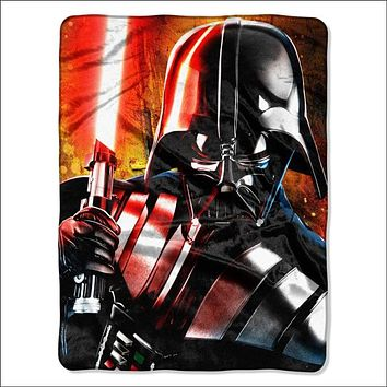 "Star Wars Classic Master of Evil Licensed 46""""x 60"""" High Definition Silk Touch Throw  by The Northwest Company"