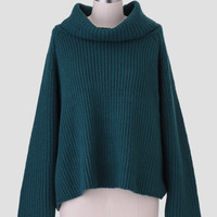 Winter Mist Oversized Sweater
