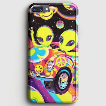 Lisa Frank Neon Tiger And Monkey 90S iPhone 8 Plus Case | casescraft