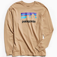 Patagonia Up And Out Long Sleeve Tee | Urban Outfitters