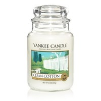 Clean Cotton® : Large Jar Candles : Yankee Candle