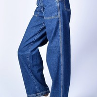 Deadstock Haley Denim Wide Leg Pants