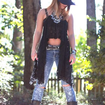M Music festival gypsy spell lace crop top, Young n famous Bohemian Mexicali beach ,Boho clothes, Stevie Nicks style True rebel clothing