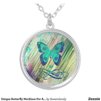 Unique Butterfly Necklace For A Special Gift