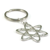 Atom Key Chain, Science Key Chain