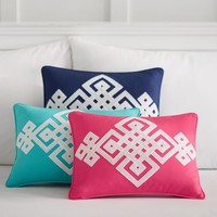 Decorator Ribbon Pillow