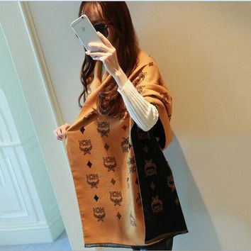 ESBU3C lady scarves poncho 2017 flowers and letters winter scarf women printed cashmere scarf luxury brand shawls and scarves pashmina