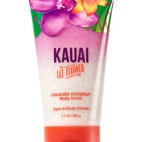 Crushed Coconut Body Scrub Kauai Lei Flower