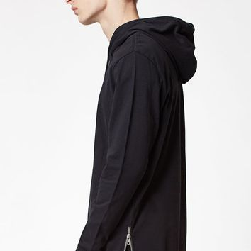PacSun Lost Hooded Zipper Long Sleeve T-Shirt at PacSun.com
