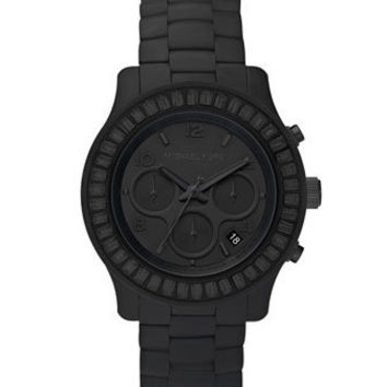 Michael Kors Blackout Silicone Watch - Michael Kors