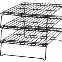 Non-stick 3-Tier Stackable Cooling Grid