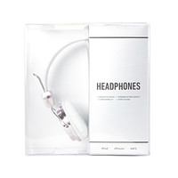 Plated Faux Leather Headphones