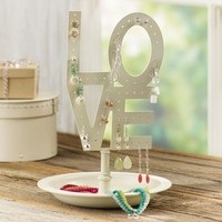 """Love"" Earring Holder"