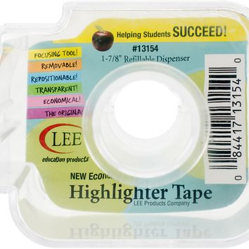"Lee Products Refillable 1-7/8"" Tape Dispenser-"