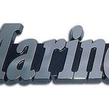 U.S. Marine Corps Chrome Auto Emblem (Marines) Officially Licensed