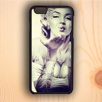 Dream colorful Marilyn Monroe Hot And Tattoo iPhone 6 Case