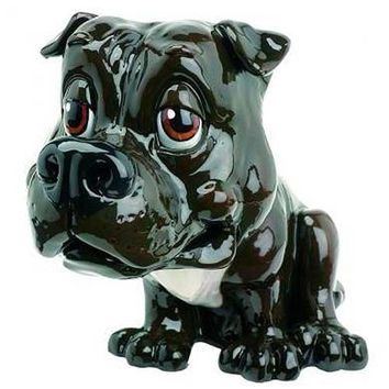 Little Paws Pets with Personality *Jack* Staffordshire Bull Terrier Dog Figurine