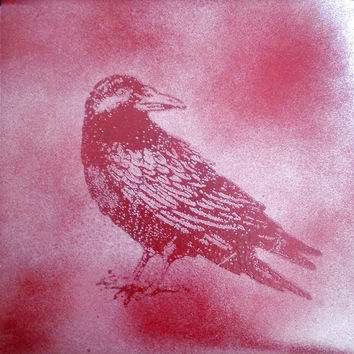 "The Ironsides ‎– The Raven / Song For Adrian 7"" Custom Jacket"
