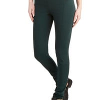 Mashup and Coming Leggings in Evergreen