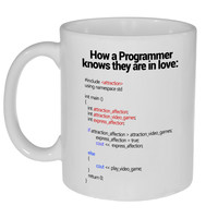 Programmer Love Coffee or Tea Mug