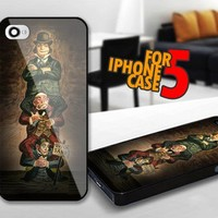 Haunted Mansion Stretching Room Quicksand for iPhone 5 Black case