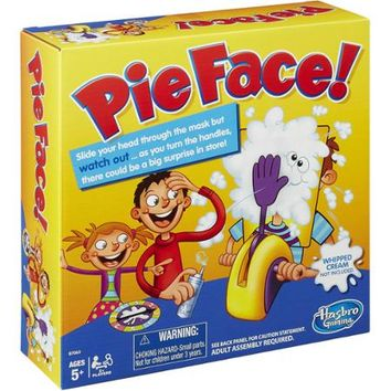 Pie Face Game - Walmart.com