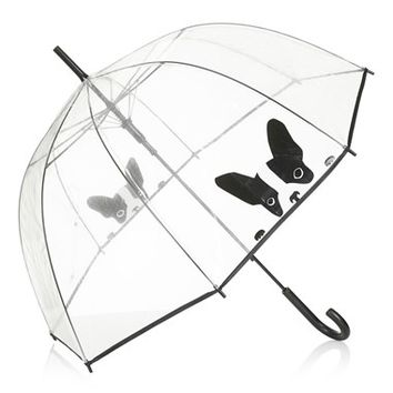 Women's Topshop 'Dog' Umbrella (Brit Pop-In)
