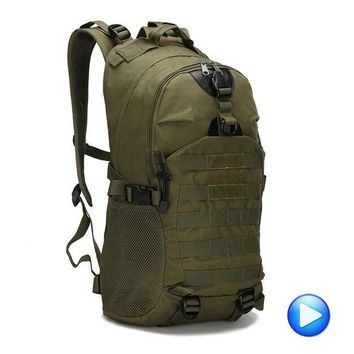LONMF Outdoor 1000D Camping Men's 3P Military Army Tactical Backpack Nylon For Cycling Hiking Sports Climbing Camouflage Bag 2017