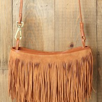 Free People Cheyenne Suede Crossbody