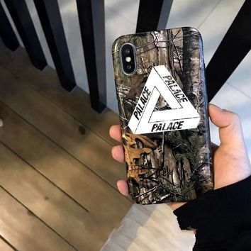 Hot Retro Palace Triangle Print Iphone X 8 8 Plus & 7 7plus & 6 6s Plus Cover Case