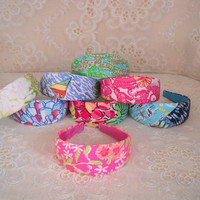 "Preppy 2"" Wide Lilly Pulitzer Headband in 8 Prints"
