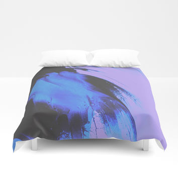 Don't Let Go Duvet Cover by duckyb