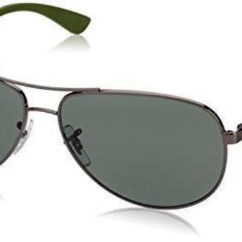 Ray Ban Men's 0rb8313 Aviator Sunglasses