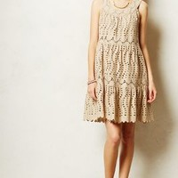 Elko Eyelet Dress by Anna Sui Ivory