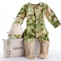 Camo Baby Little Army Gift Set (Monogram Available)