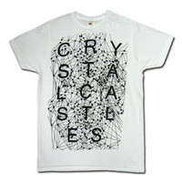 Crystal Castles Merchandise Store  - Crystal Castles  T-Shirts  Crimewave T-shirt
