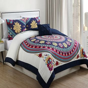 The Breck Bohemian Bazaar Comforter SET