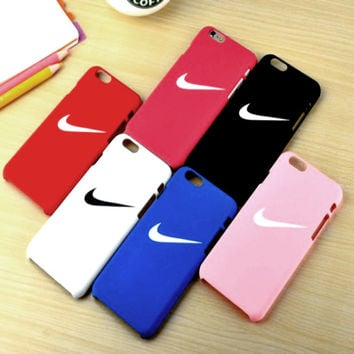 "The New ""Nike"" Printed Iphone 7 7plus &6 6s Plus Cover Case"