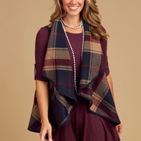 Altar'd State Twin Cities Outerwear Vest