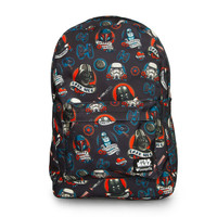 LOUNGEFLY STAR WARS DARK SIDE TATTOO BACKPACK