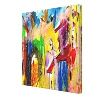 Colorful Abstract #1 Customizable Canvas Print