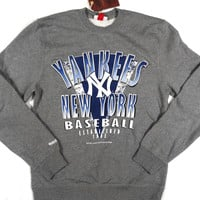 New York Yankees Mitchell & Ness Pullover Sweatshirt Size L