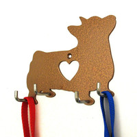Corgi Leash Holder - Dog Leash Hook - Dog Key Holder - Dog Leash Hanger - Dog Leash Rack