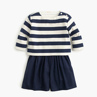 crewcuts Girls Sailor-Striped Romper