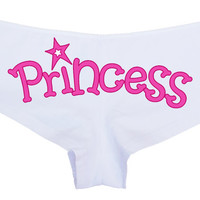 PRINCESS your boy short panty Panties boyshort sexy funny rude collar collared kitten fun flirty bdsm daddy little baby girl CGL spank me